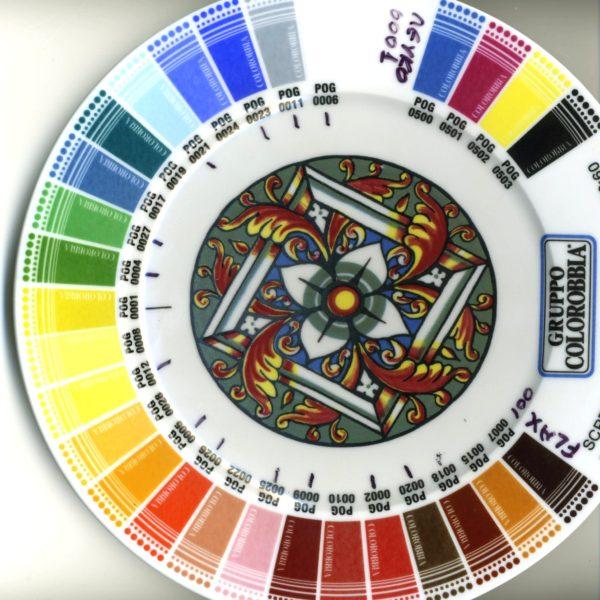 Χρώματα 3ου ψησίματος 750-850°C